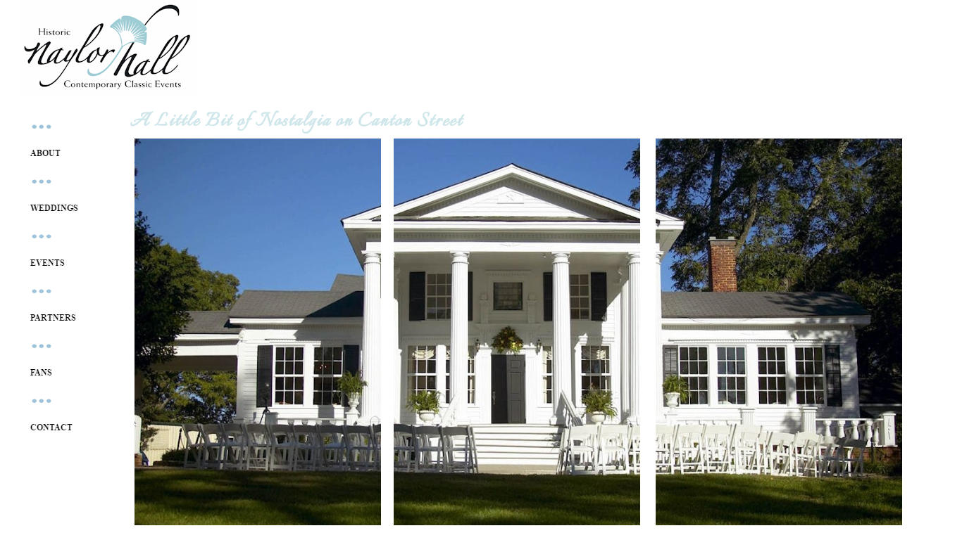 Naylor Hall - Antebellum Events Venue